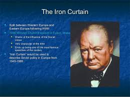 Winston Churchill And The Iron Curtain Cold War