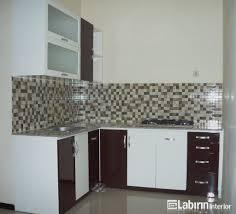 desain kitchen set minimalis modern kitchen set untuk dapur kecil