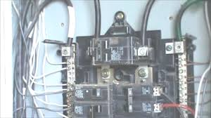 how to install a 220 volt 4 wire outlet youtube exceptional 240