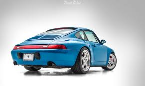 porsche blue rare blue turquoise 993 recieves fanatic detail at nwas