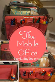 ideas fantA sticas sobre craftsman household cleaning mobile office how mobilize all your planning supplies