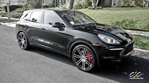Porsche Cayenne Rims - 2011 porsche cayenne turbo black beast burmester turbo ii for sale