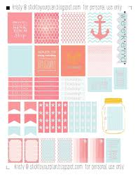 erin condren life planner free printable stickers stick to your plan erin condren life planner life planner and