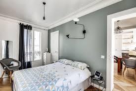 chambre sol gris vert chambre coucher idées décoration intérieure farik us
