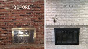 i painted my brick fireplace 5 years later a real interview