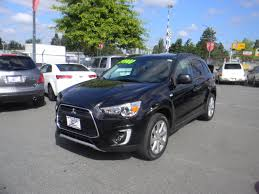 mitsubishi rvr interior used 2015 mitsubishi rvr gt black for sale 21900 0 pacific