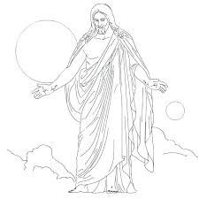 coloring page of jesus ascension coloring pages jesus coloring pages ascension of coloring pages