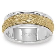 carved wedding bands artcarved kranichs jewelers
