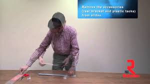 kenlin drawer guide center mount slide how to separate drawer slide from cabinet