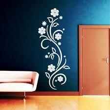 Schlafzimmer Wandtattoo Uncategorized Ehrfürchtiges Wandtattoo Blumenranke Weis