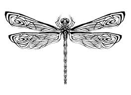 65 tribal dragonfly design and meanings black tribal dragonfly