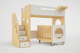 Crib And Bed Combo Marino Bunk Bed Crib Casa