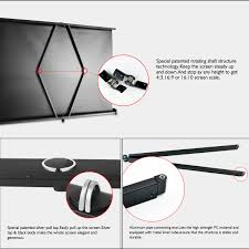 home theater screen fabric portable projector table screen projection screen shenzhen