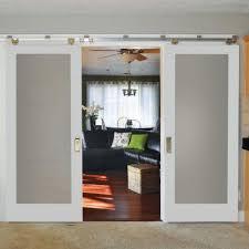 Home Depot Solid Wood Interior Doors Masonite 36 In X 84 In Primed 1 Lite Solid Wood Interior Barn