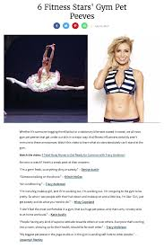 6 fitness stars gym pet peeves tracy anderson