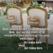 wedding wishes name wishes for wedding with name