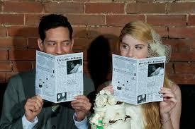 create your own wedding program creative programs get ready 2 wed