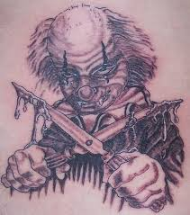 scary clown tattoo drawing photo 3 photo pictures and