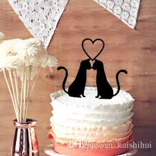 cat cake topper 2018 wedding cake toppers 2 cats in wedding cake topper
