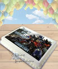 optimus prime cake topper transformers optimus prime edible image cake topper