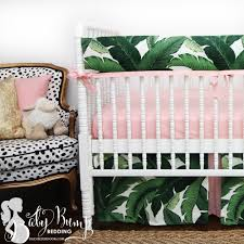 Preppy Crib Bedding Beautiful Baby Bedding Perfectly Pretty In Palm This Preppy