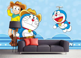 compare prices on doraemon wall murals wallpapers for kids online