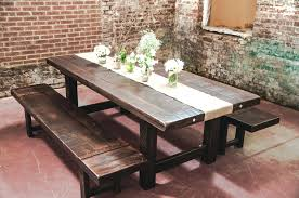 Rustic Pine Dining Tables Clayton Rustic Plank Dining Table And Chairs Rustic Plank Dining