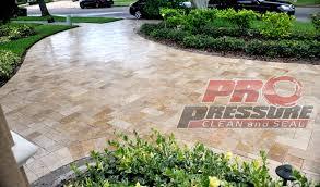 paver travertine brick sealing restoration repair tampa pinellas