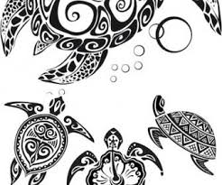 heart maori tribal turtle tattoo design maori tattoo design