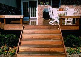 Deck Stairs Design Ideas Backyard Wood Stairs Functional Simplicity Outdoor Wood Steps