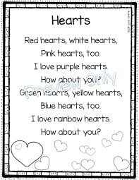 daughters and kindergarten 5 valentine u0027s day poems for kids