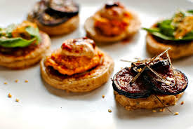bellini canape a trio of blinis for year s food to glow