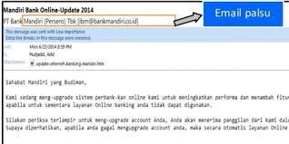email mandiri kenali dan waspadai penipuan menggunakan modus phishing blog k24klik