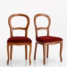 chaises louis philippe chaise médaillon louis philippe hêtre massif lot de 2 acheter ce