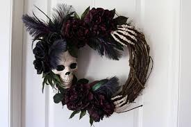 wreath ideas ghostly handmade wreath ideas for spooky home decor