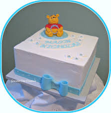 winnie the pooh baby shower cakes winnie the pooh baby shower cake grace tari flickr