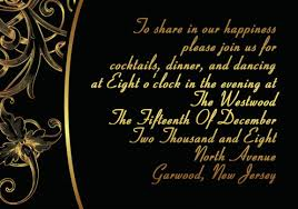 black and gold wedding invitations vintage black and gold damask inexpensive wedding party