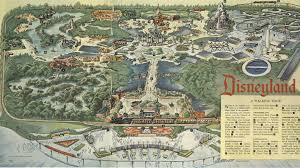 Disney World Google Map by 1960s Disneyland Map Orange County California Pinterest Google