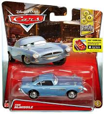 fin mcmissile disney pixar cars parts market finn mcmissile 155 diecast
