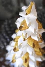 easy christmas craft ideas ribbon trees christmas time is here