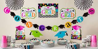 graduation decoration graduation room decorating kits party city