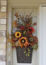 Main Door Flower Designs by Best 25 Fall Front Doors Ideas On Pinterest House Styles