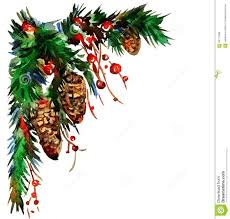 Christmas Decorations Print For Christmas Decorations Stock Illustration Image 63508066