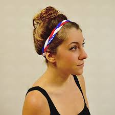 sports headband braided sports headband with no slip grip keeps your hair