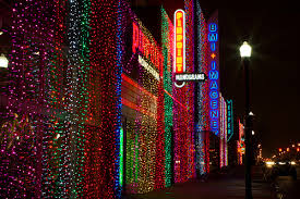 automobile alley christmas lights automobile alley lights downtown oklahoma city pinterest city
