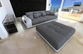 big sofa weiss big fabric sofa miami with led