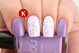 opi do you lilac it with lilac stamping using moyou nails