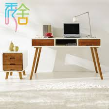 korean study show homes modern minimalist wood desk with drawers ikea computer desk 1 2 m nordic desk in computer desks from furniture on aliexpress com