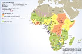 Africas Map by Dr Toulouse International Studies Spring 2014