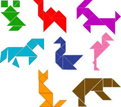 tangram puzzles 25 best tangram images on triangles busy bags and